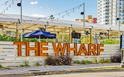 The Wharf Opens With Garcia's Seafood, Cocktails, and Rotating Chefs