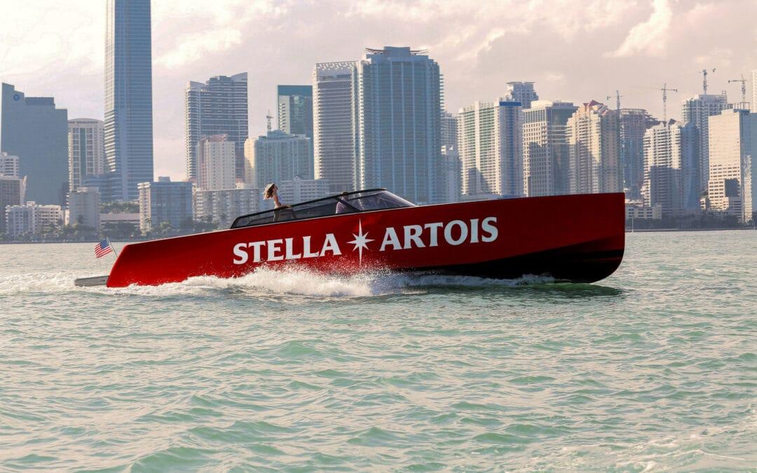 Stella Artois Docks 'Port de Stella' in Miami for Debut Ahead of Super Bowl LIV Alongside Host Priyanka Chopra Jonas and Special Guest Karamo Brown